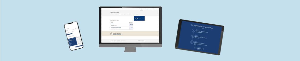 Versicherten-Portal der BVK Zusatzversorgung